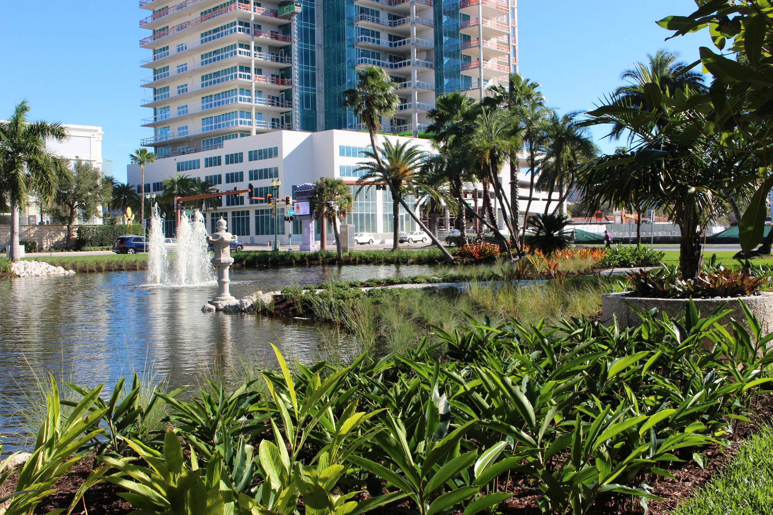 The Bay Sarasota - Landscape Installation Sarasota FL